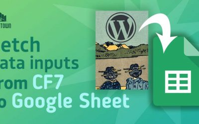 Submit Contact Form 7 data entries to Google Sheets