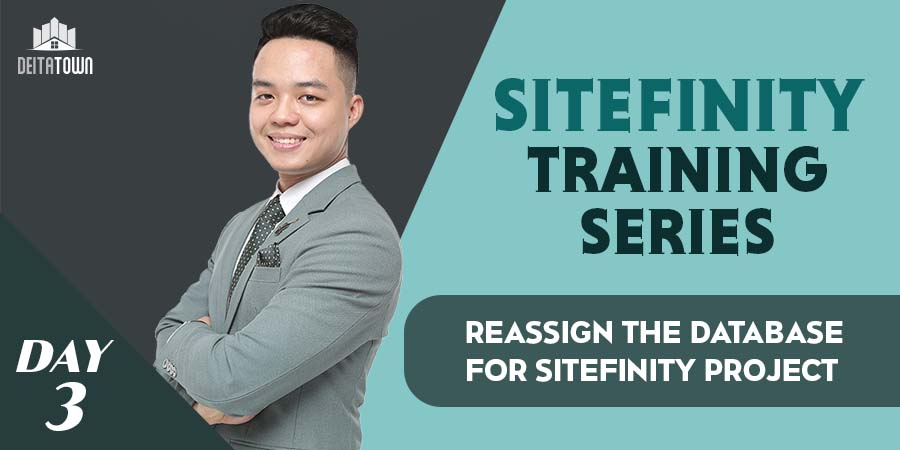 Reassign the database for Sitefinity project