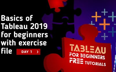Basics of Tableau 2019 for beginners with exercise file